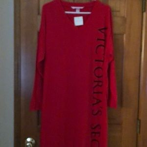 NWT Victoria's Secret Night Shirt Size Large
